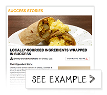 Success Story Contact Page - American Egg Board